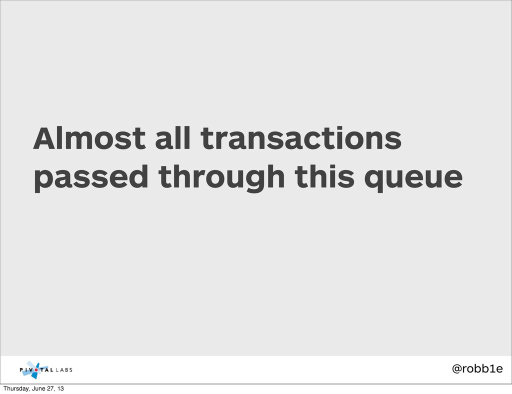 @robb1e Almost all transactions passed through ...