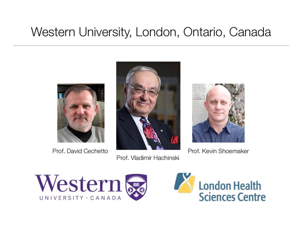 Western University, London, Ontario, Canada Pro...