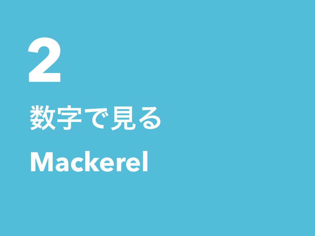 2 ͰݟΔ Mackerel