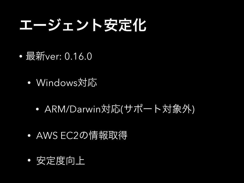 ΤʔδΣϯτ҆ఆԽ • ࠷৽ver: 0.16.0 • WindowsରԠ • ARM/Dar...