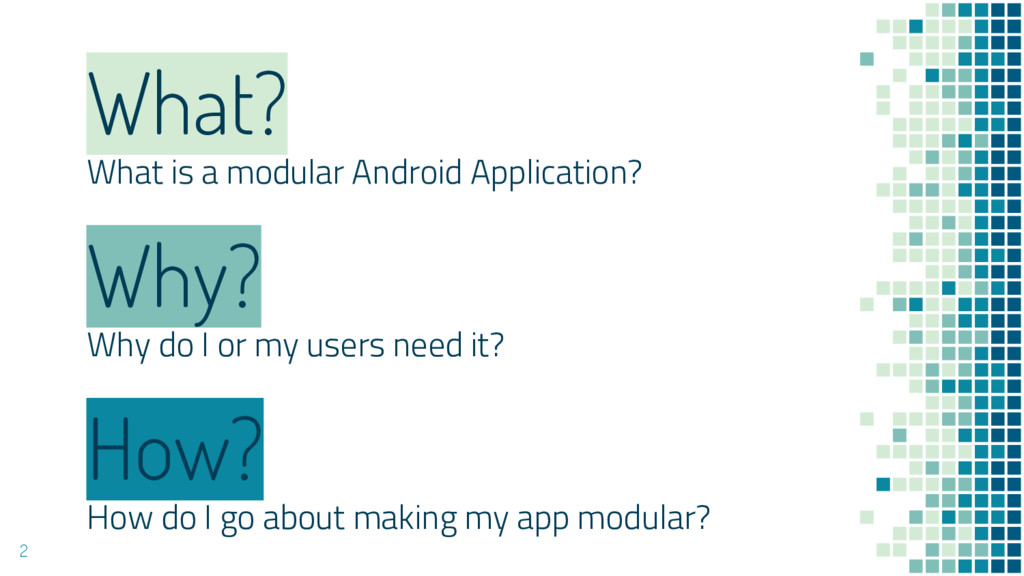 What? What is a modular Android Application? Ho...