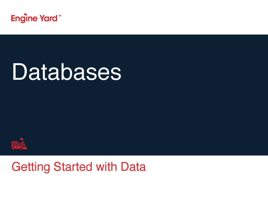 Getting Started with Data Databases