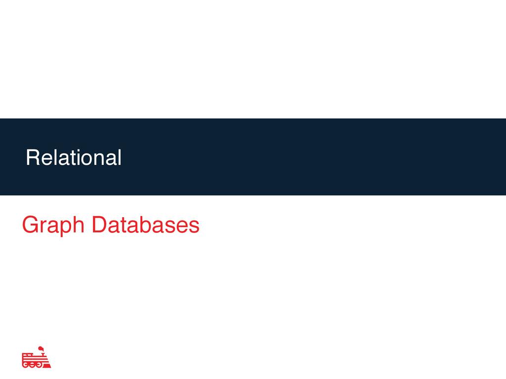 Agenda Graph Databases Relational
