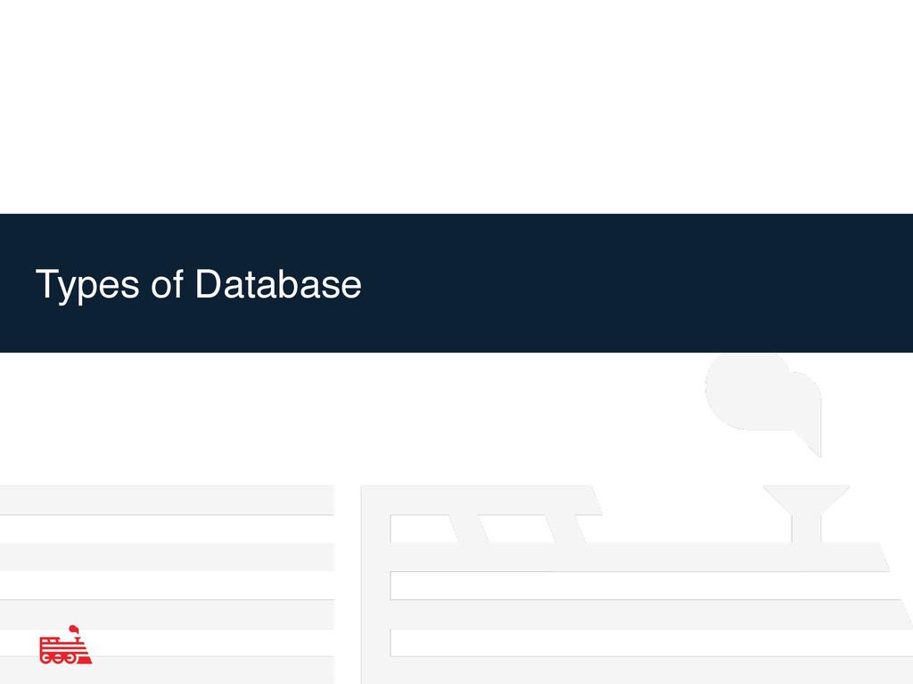 Types of Database