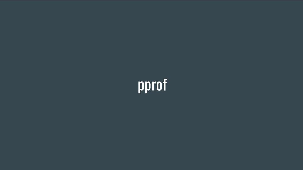 pprof