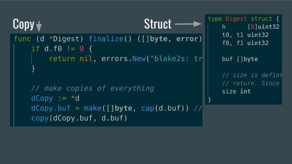 Copy Struct