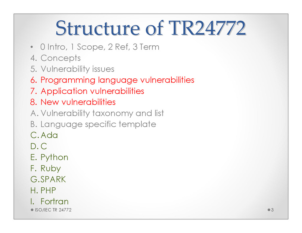 Structure of TR24772 Structure of TR24772 • 0 I...