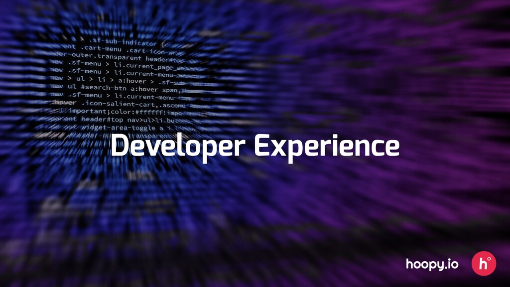 Developer Experience hoopy.io