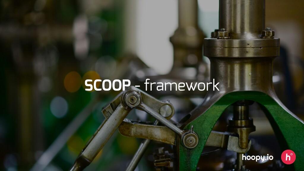 hoopy.io SCOOP - framework