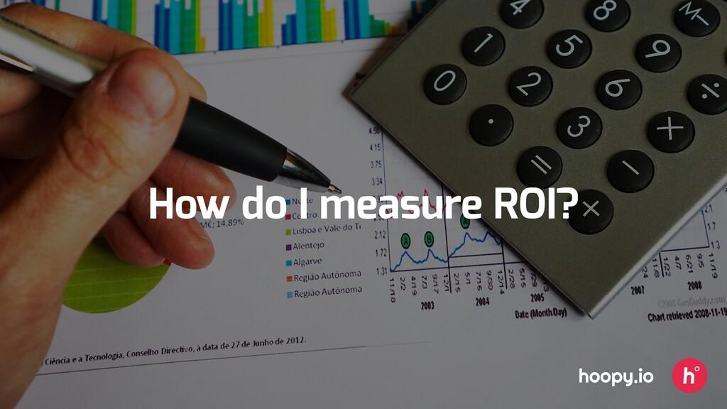 How do I measure ROI? hoopy.io