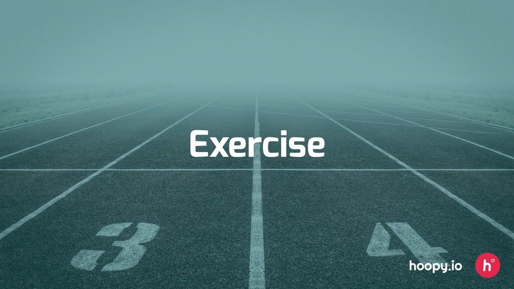 Exercise hoopy.io