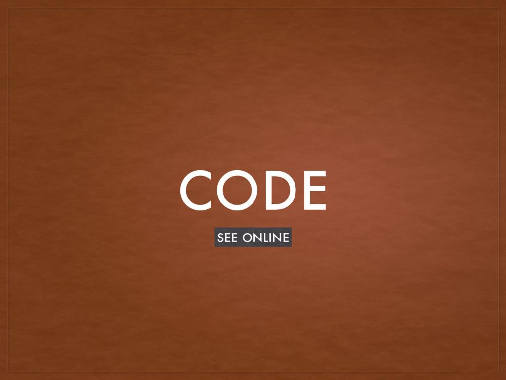 CODE SEE ONLINE