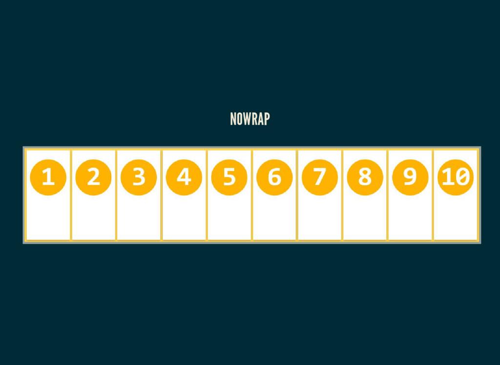 NOWRAP