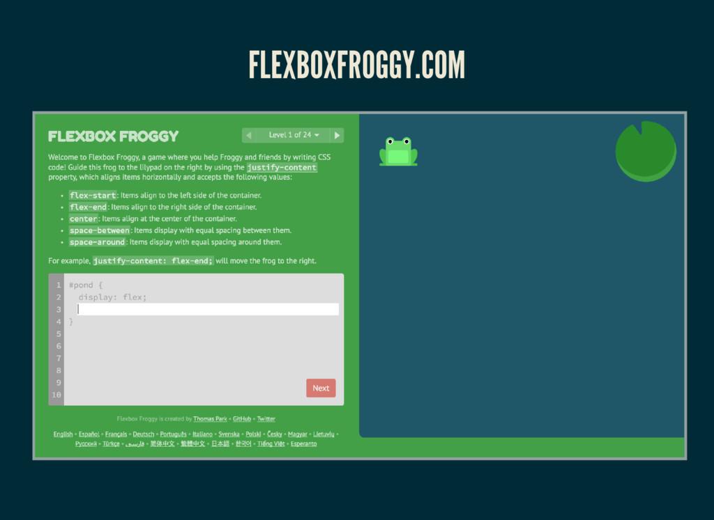 FLEXBOXFROGGY.COM