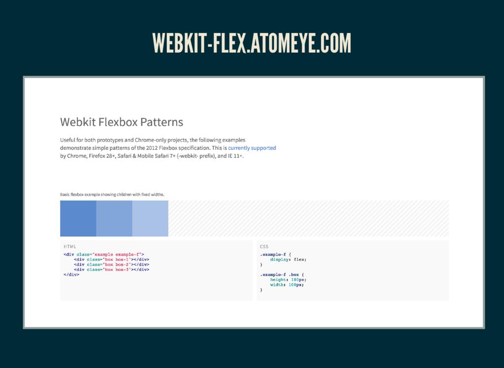 WEBKIT-FLEX.ATOMEYE.COM