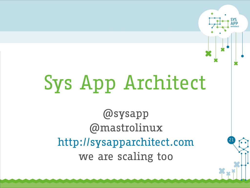 Sys App Architect @sysapp @mastrolinux http://s...