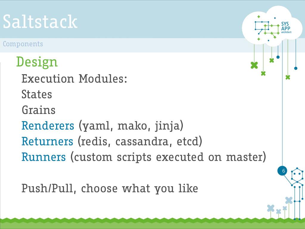 Saltstack Design Execution Modules: States Grai...