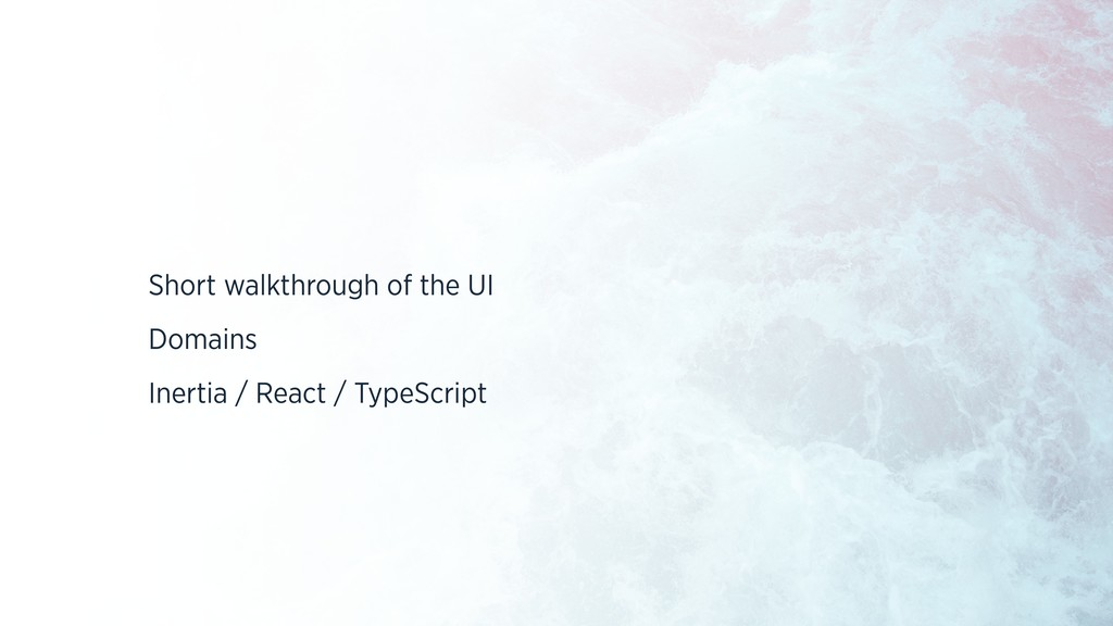 Short walkthrough of the UI Domains Inertia / R...