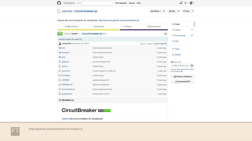 https://github.com/yammer/circuit-breaker-js