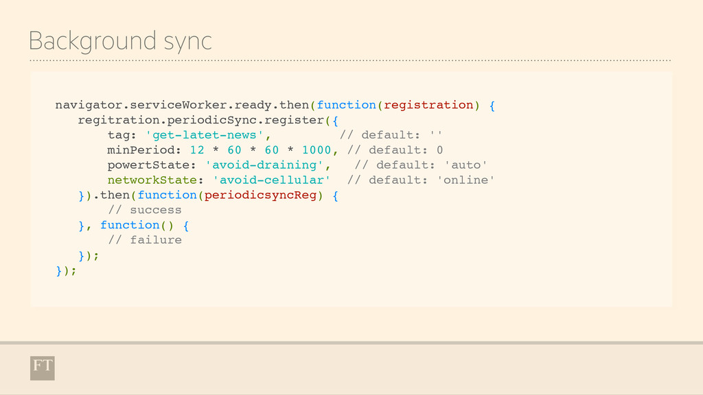 Background sync navigator.serviceWorker.ready.t...