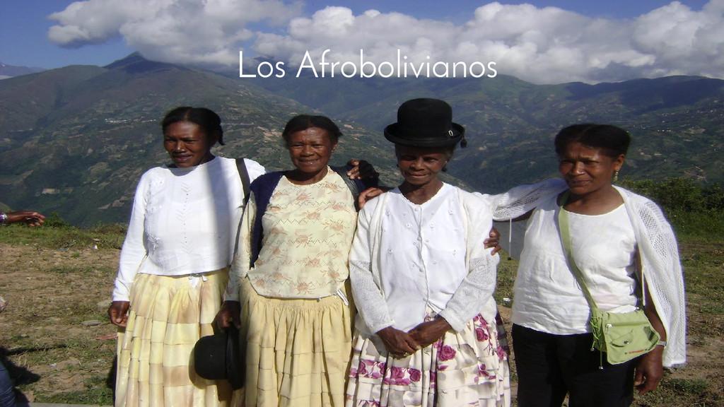 Los Afrobolivianos