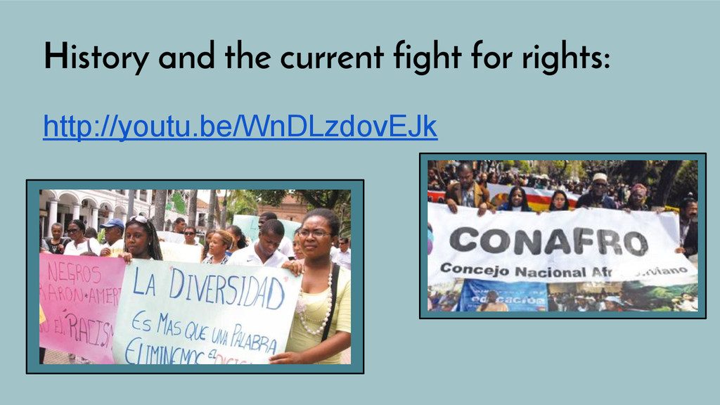 History and the current fight for rights: http:...