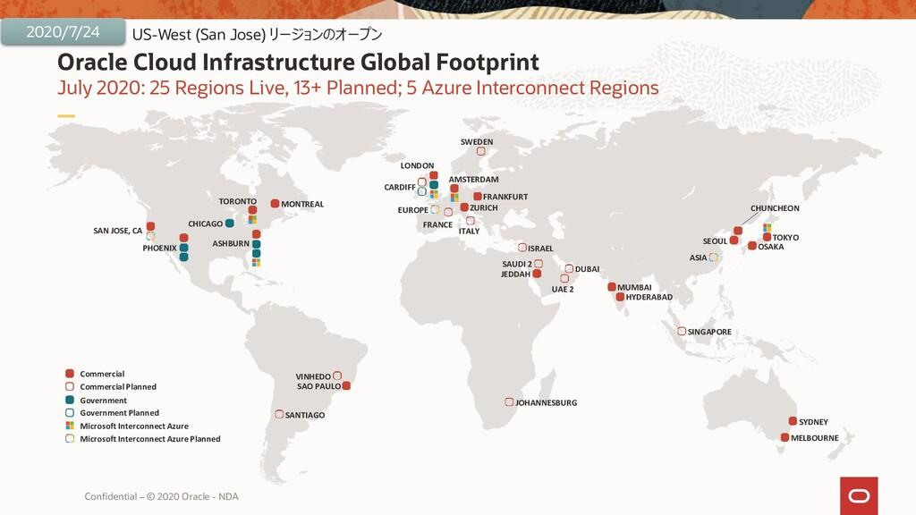 Oracle Cloud Infrastructure Global Footprint Ju...