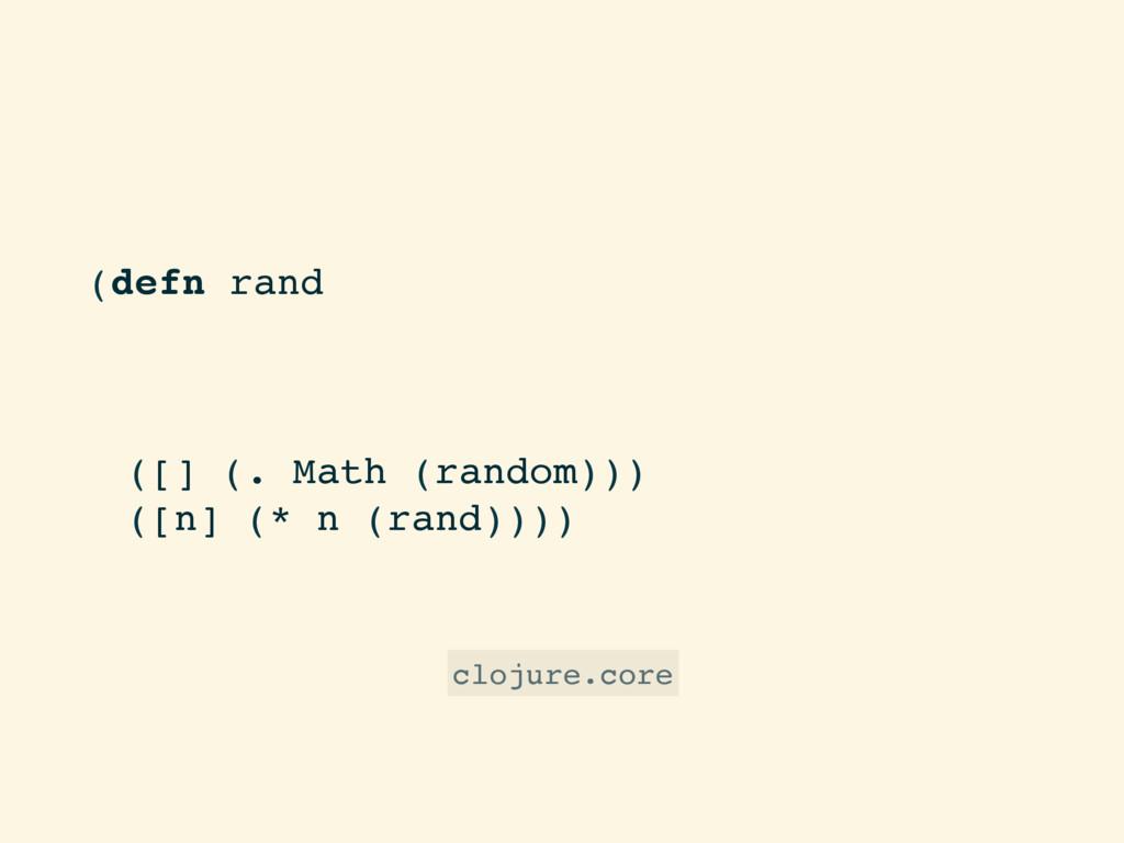 "(defn rand ""Returns a random floating point num..."