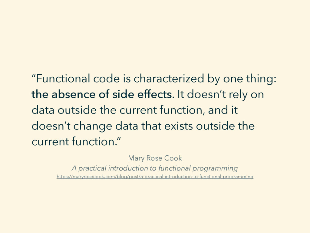 Mary Rose Cook A practical introduction to func...