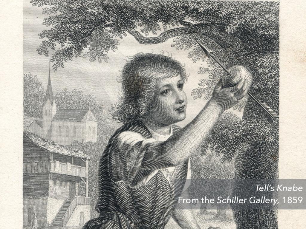 Tell's Knabe From the Schiller Gallery, 1859