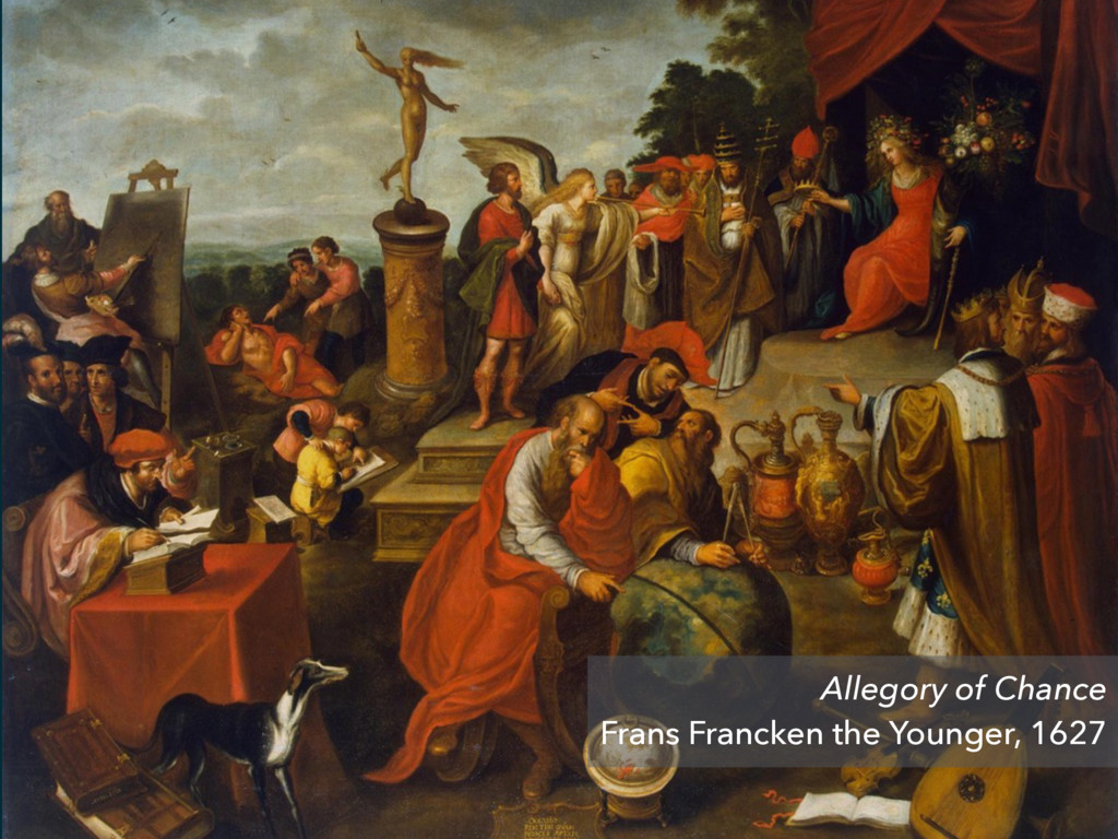Allegory of Chance Frans Francken the Younger, ...