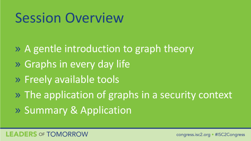 Session Overview » A gentle introduction to gra...