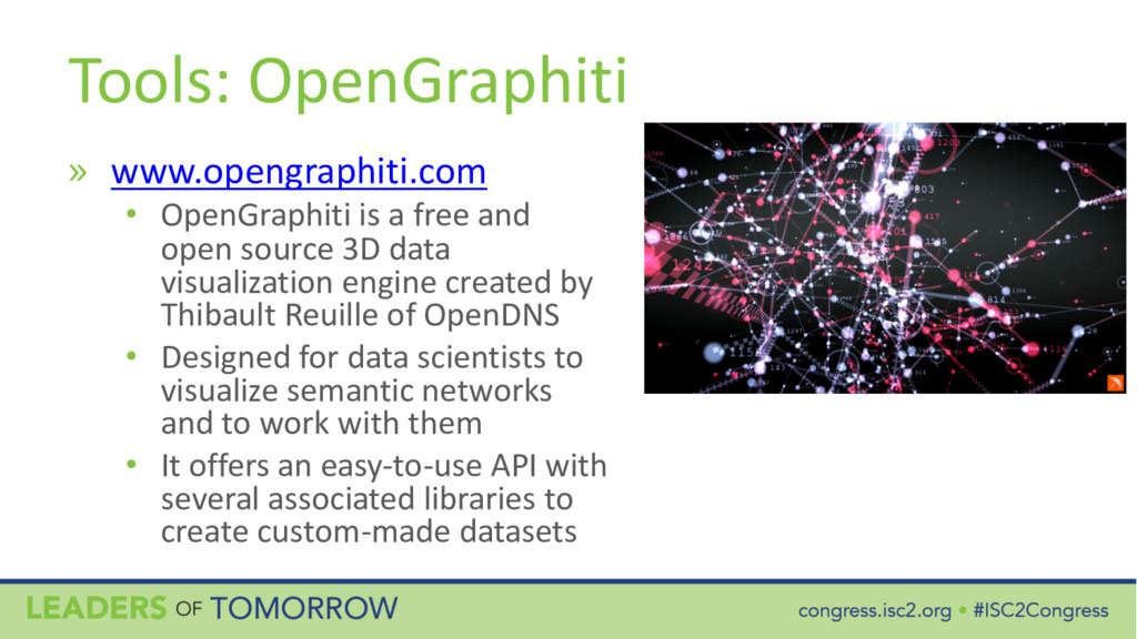 Tools: OpenGraphiti » www.opengraphiti.com • Op...