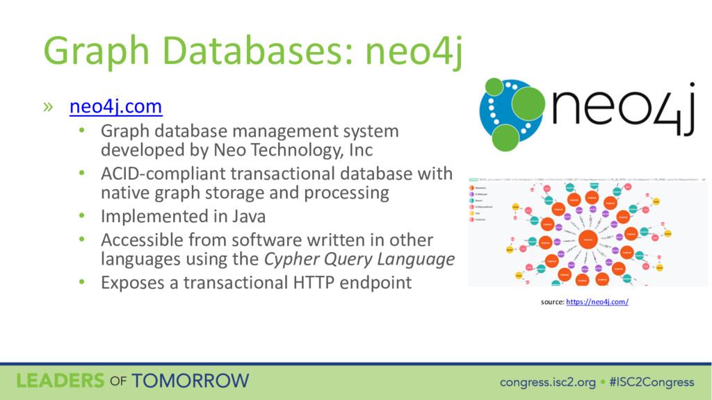 Graph Databases: neo4j » neo4j.com • Graph data...