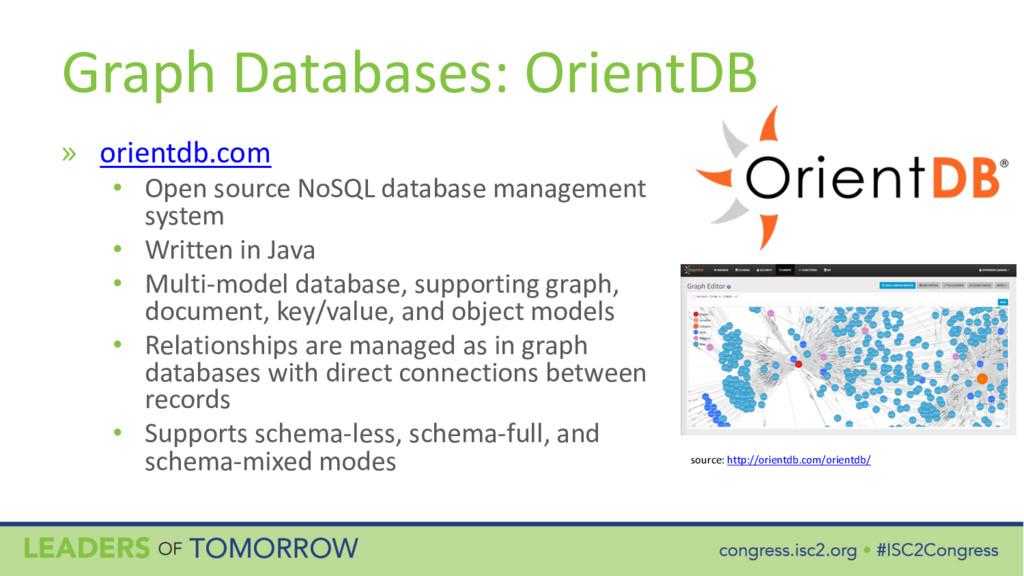 Graph Databases: OrientDB » orientdb.com • Open...