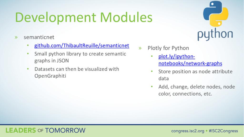 Development Modules » semanticnet • github.com/...