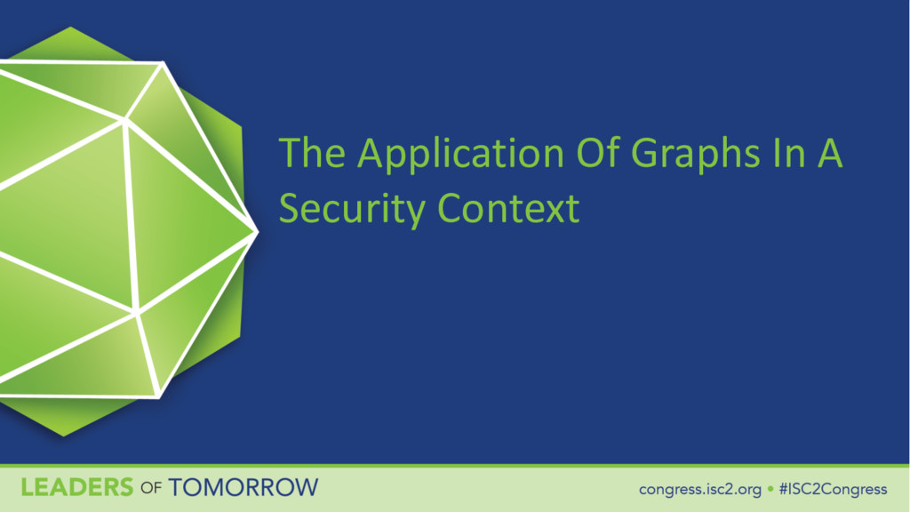 The Application Of Graphs In A Security Context