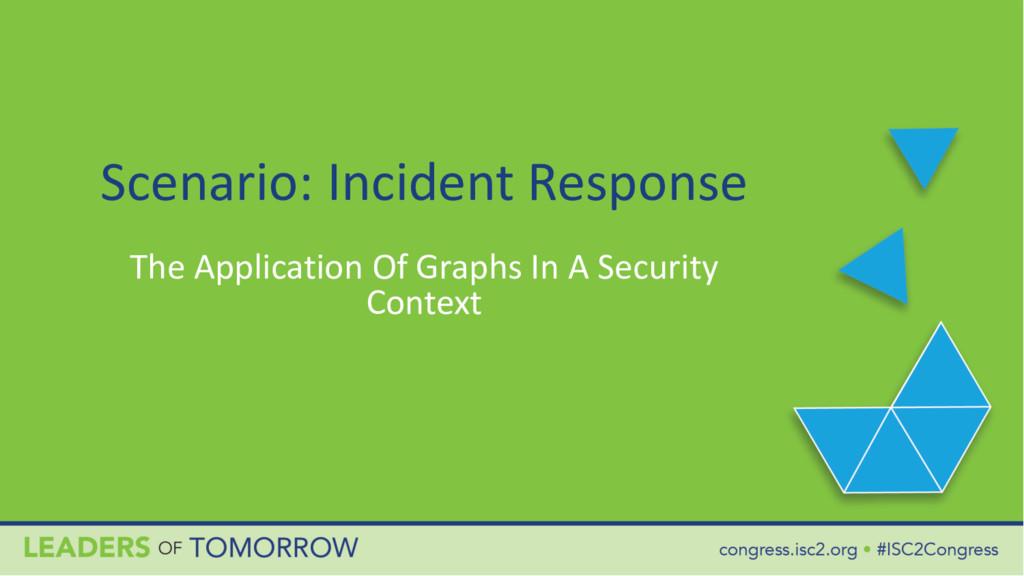 Scenario: Incident Response The Application Of ...