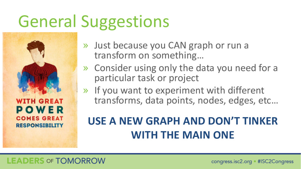 General Suggestions » Just because you CAN grap...