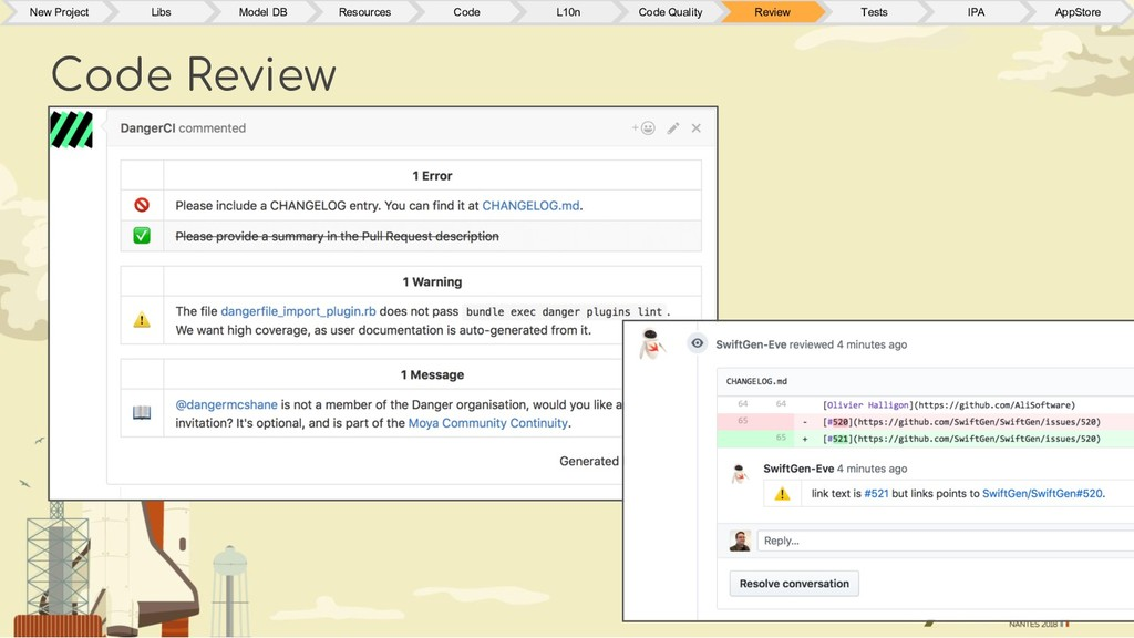 Code Review New Project Libs Model DB Resources...