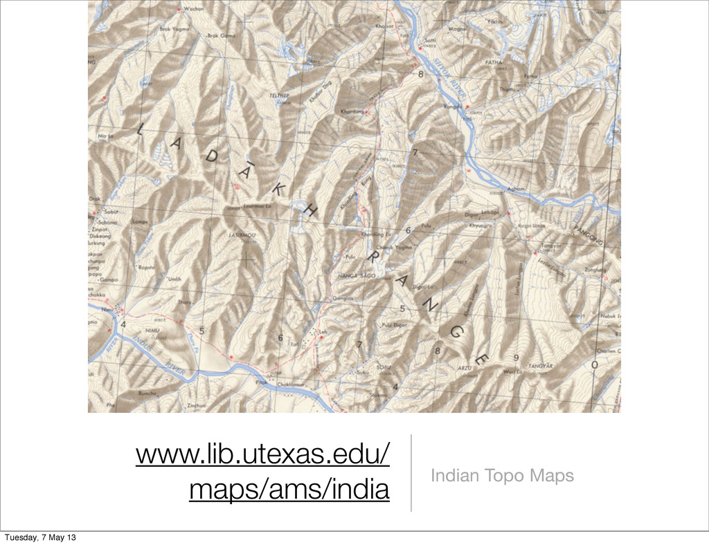 www.lib.utexas.edu/ maps/ams/india Indian Topo ...