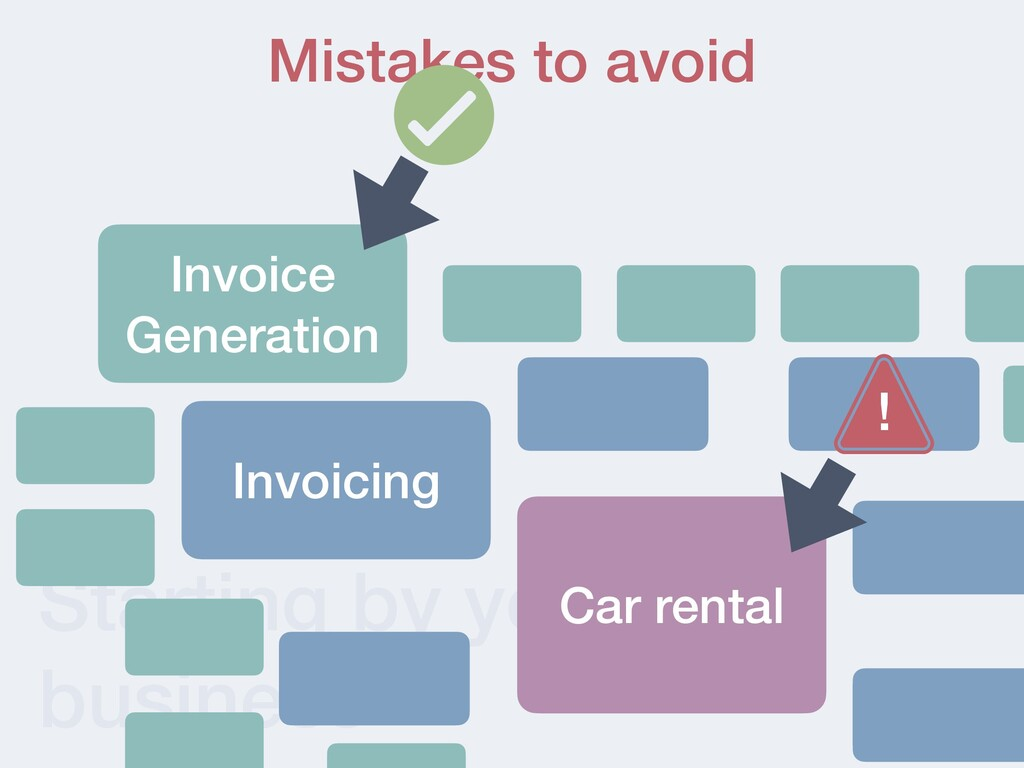 Starting by your core business Mistakes to avoi...