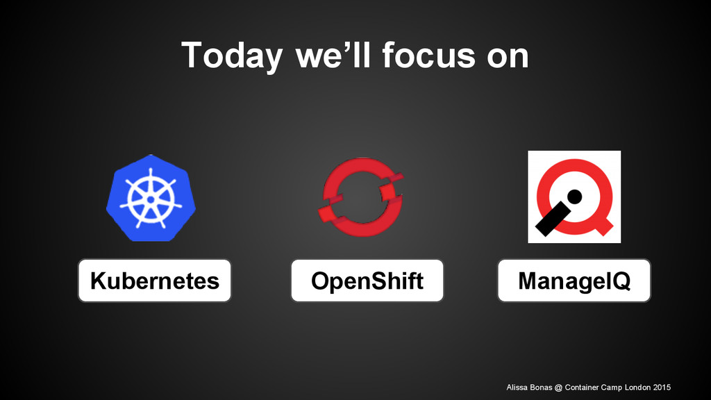 Today we'll focus on Kubernetes OpenShift Manag...