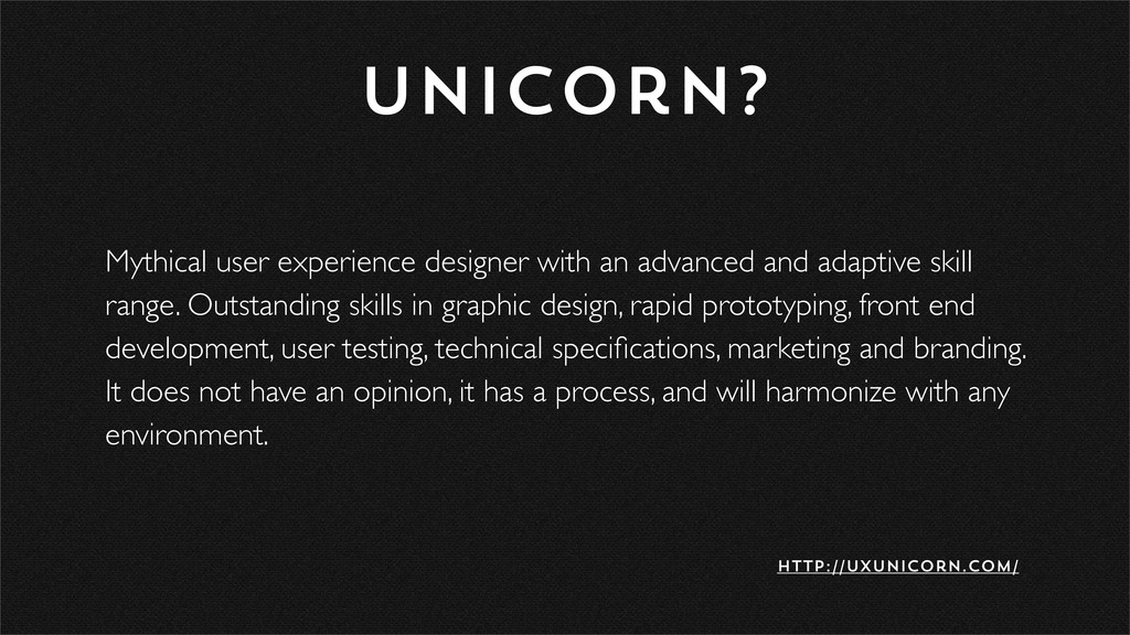 Mythical user experience designer with an advan...