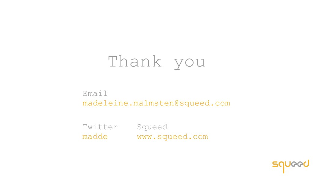 Thank you Twitter madde Email madeleine.malms...