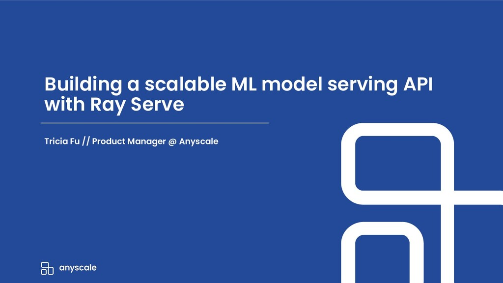 Building a scalable ML model serving API with R...