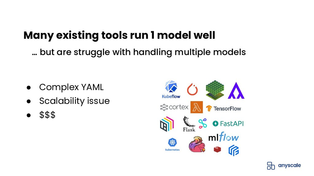 ● Complex YAML ● Scalability issue ● $$$ … but ...