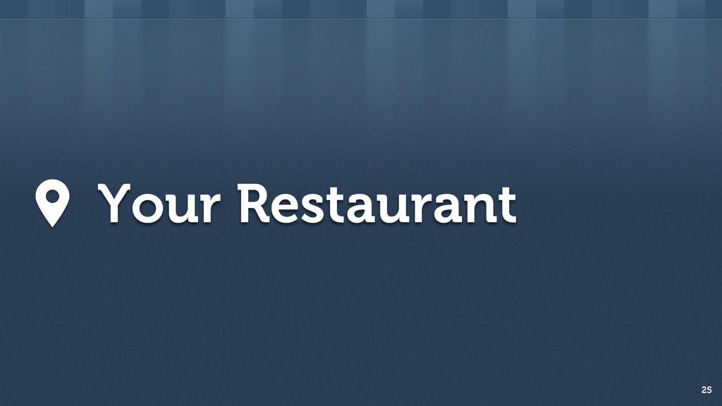 25 Your Restaurant