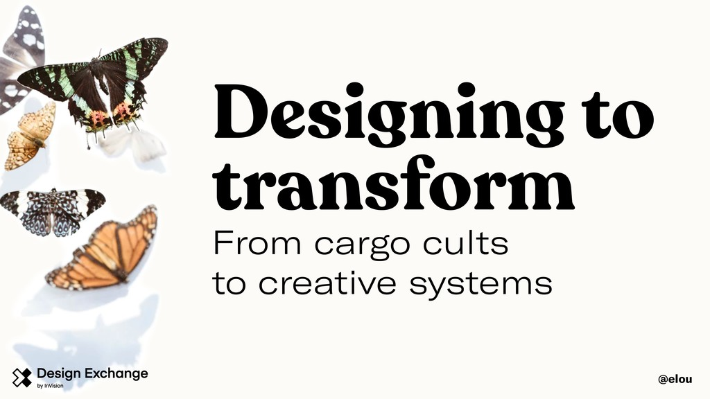 From cargo cults