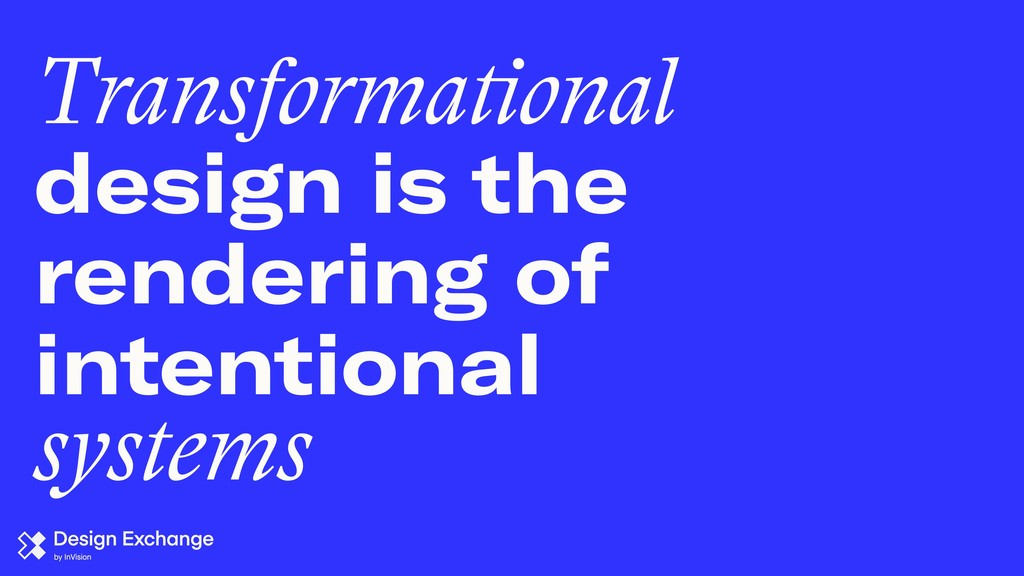 design is the rendering of
